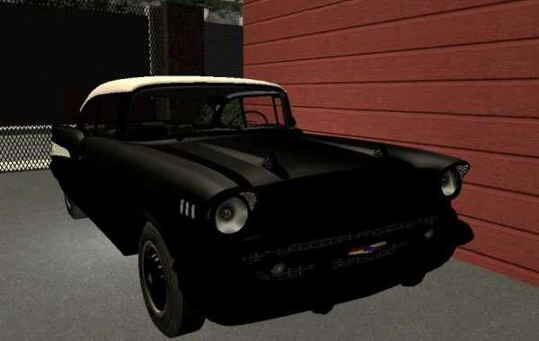 Chevrolet Noir et blanche